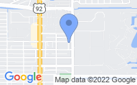 Map of Saint Petersburg FL