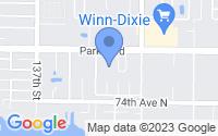Map of Seminole FL
