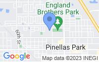 Map of Pinellas Park FL