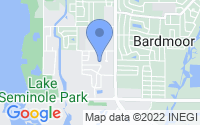 Map of Seminole FL