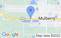 Map of Mulberry FL