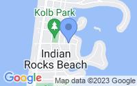 Map of Indian Rocks Beach FL