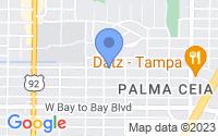 Map of Tampa FL
