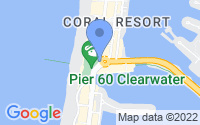 Map of Clearwater FL
