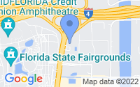 Map of Tampa FL