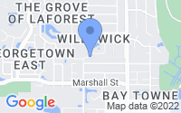 Map of Safety Harbor FL
