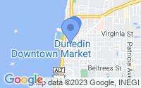 Map of Dunedin FL