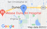 Map of Dunedin FL