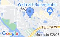 Map of Oldsmar FL