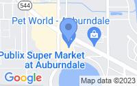 Map of Auburndale FL