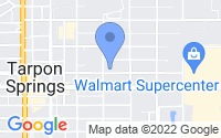 Map of Tarpon Springs FL