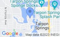 Map of Tarpon Springs FL