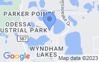 Map of Odessa FL