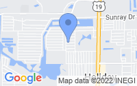 Map of Holiday FL