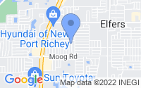 Map of New Port Richey FL
