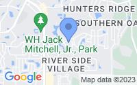 Map of New Port Richey FL