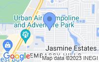 Map of Port Richey FL