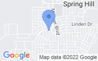 Map of Spring Hill FL