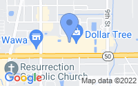 Map of Winter Garden FL