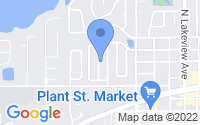 Map of Winter Garden FL