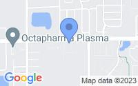 Map of Pine Hills FL