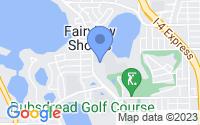 Map of Orlando FL