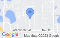 Map of Apopka FL