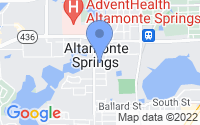 Map of Altamonte Springs FL