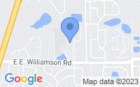 Map of Longwood FL