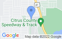 Map of Inverness FL