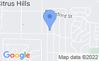 Map of Citrus Hills FL