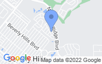 Map of Beverly Hills FL