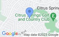 Map of Citrus Springs FL