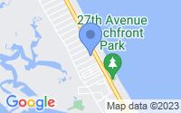 Map of New Smyrna Beach FL