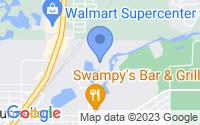 Map of Dunnellon FL