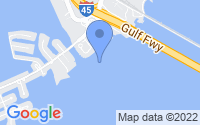 Map of Tiki Island TX