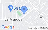 Map of La Marque TX