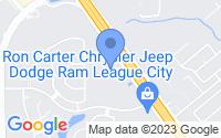 Map of League City TX