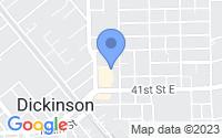 Map of Dickinson TX