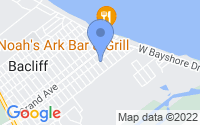 Map of Bacliff TX