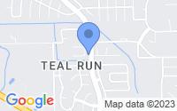 Map of Fresno TX