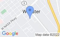 Map of Webster TX