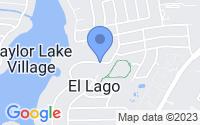 Map of El Lago TX