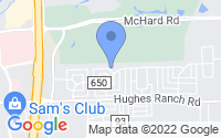 Map of Pearland TX