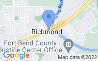Map of Richmond TX