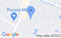 Map of Houma LA