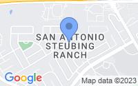 Map of San Antonio TX