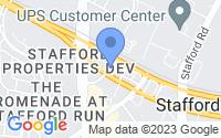 Map of Stafford TX