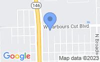 Map of La Porte TX