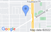 Map of Bellaire TX
